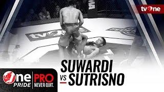 Video [HD] One Pride MMA #3: Suwardi VS Sutrisno - Flyweight Title Fight MP3, 3GP, MP4, WEBM, AVI, FLV Oktober 2018