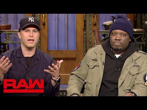 Colin Jost & Michael Che of SNL fame will compete at WrestleMania: Raw, March 25, 2019