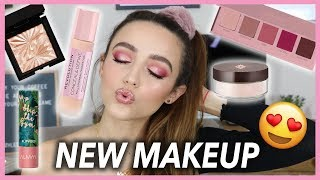 FULL FACE OF NEW MAKEUP | First Impressions