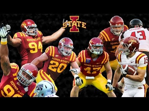 Iowa - Six Iowa State Cyclones are headed to NFL teams. Check out some highlights from their time in the Cardinal and Gold.