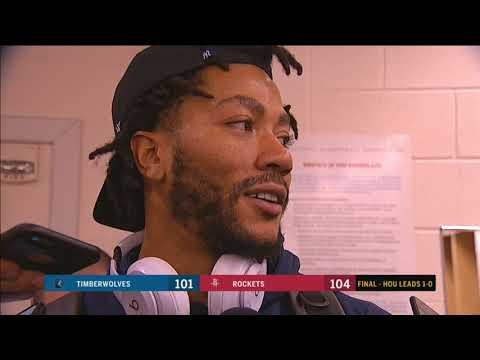 Derrick Rose had 16 points in playoff game against Rockets