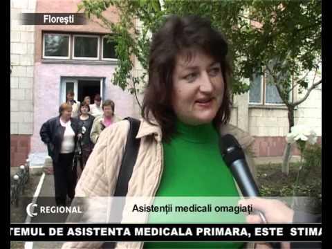 Asistentii medicali omagiati