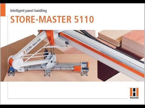 Holz-Her StoreMaster 5110 Loading Beam Saw