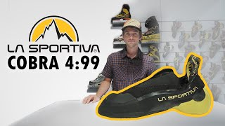 La Sportiva Cobra 4:99 Speed Climbing Shoe by WeighMyRack