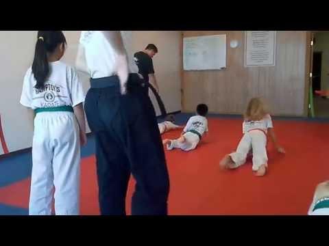 Hampton's Karate Academy - Animal Exercises 01