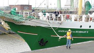 Die Alexander von Humboldt II am 21. Mai 2016 beim Einlaufen in den Fischereihafen von Bremerhaven. Das Segelschiff lief 2011 in Bremen vom Stapel.Abonnieren: https://www.youtube.com/channel/UCrCLYgLx7x52o0Otv-8BZpg?sub_confirmation=1Facebook: https://www.facebook.com/HD1080ideTwitter: www.twitter.com/HD1080ide