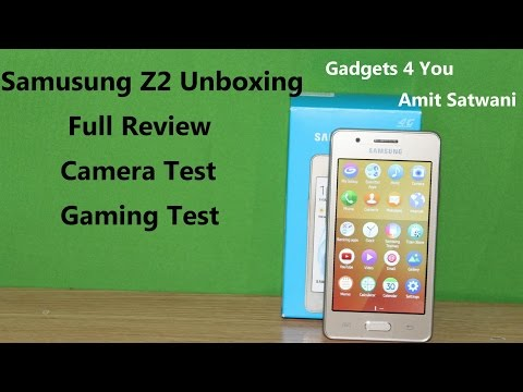 Samsung Z2 Unboxing And Full Review