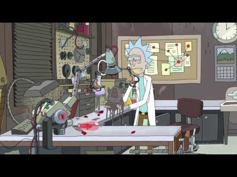 Beautiful, but sad, scene from Rick and Morty season 2 episode 3