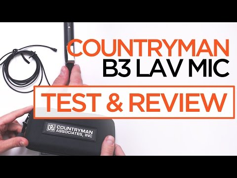 Countryman B3 Lav Microphone [Review & Test]