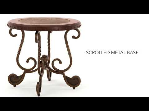 Rafferty T382-6 Round End Table