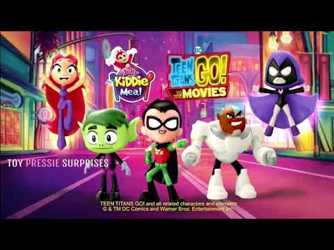 JOLLIBEE COMMERCIAL- Teen Titans Go To The Movie Jollibee Kiddie Meal Toys 2018