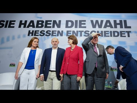 Endspurt in Hessen: Die Parteien im Stimmenkampf