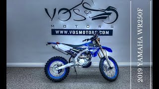 5. The Brand NEW 2019 Yamaha WR250F Walkaround