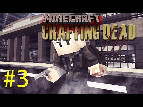 EXPLOSIVE CAVERNS | Minecraft Crafting Dead #3 S3