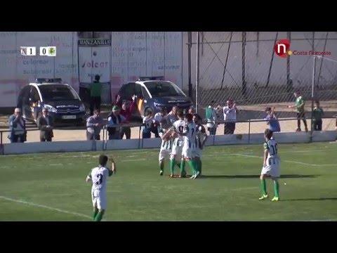 Resumen, Atlético Sanluqueño 5 – 0 U.D. Los Barrios
