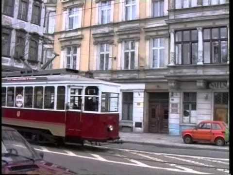 Wrocławskie tramwaje w 1995 roku.