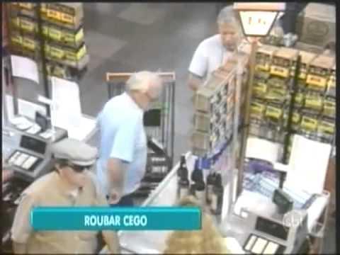 Roubar Cego  Pegadinha com Ivo Holanda  Programa Silvio Santos