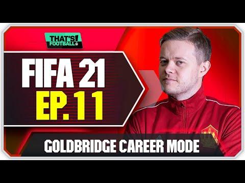 FIFA 21 MANCHESTER UNITED CAREER MODE! GOLDBRIDGE! EPISODE 11