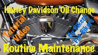8. Harley Davidson Oil Change & Routine Maintenance | Complete Guide & Instructions