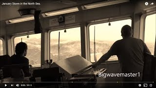 Video TERRIFYING Footage Shows What It's Like On-Board Ship a In The North Sea STORM MP3, 3GP, MP4, WEBM, AVI, FLV Juli 2018