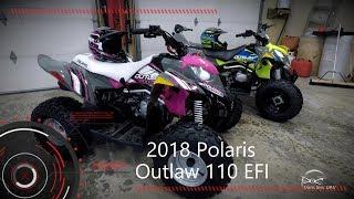 1. 2018 Polaris Outlaw110