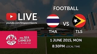Football Thailand vs Timor-Leste Preliminary round of 28th SEA Games Singapore 2015 (1 June 2015) Subscribe to...