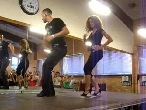 Бачата. Ataca & Alemana - турнир в Польше 2009