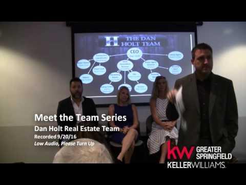 Meet the Team Series Dan Holt Real Estate Team-Keller Williams Real Estate Springfield MO