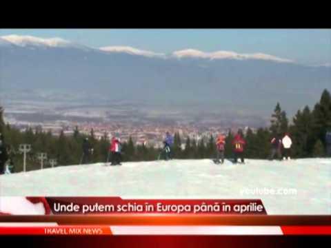 Unde putem schia in Europa pana in aprilie