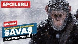 Bu kez Maymunlar Cehennemi: Savaş filminin spoiler içeren yorumları karşınızda. Üstelik bir de teorim var.