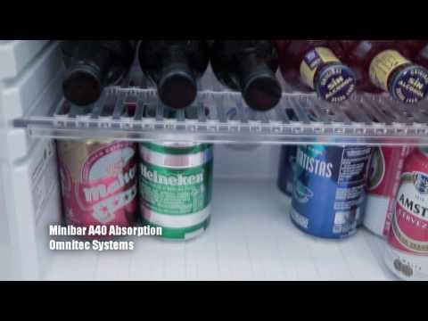 Omnitec Minibar A40 puerta cristal