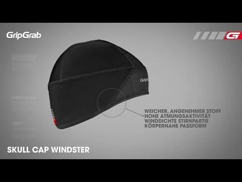 GripGrab Skull Cap Windster DE