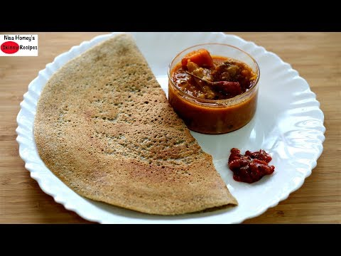 Diabetic diet - Bajra Dosa Recipe - Pearl Millet/Kambu Dosai - Healthy Indian Breakfast Recipes Diabetes Weight Loss