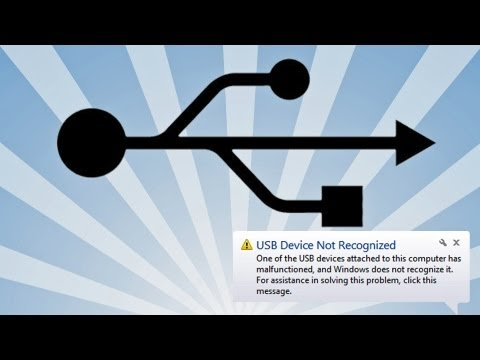 USB Device Not Recognized (Solution)