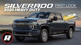 2020 Chevy Silverado HD First Look: Rocks New looks, hulked-out hauling and tech by Roadshow