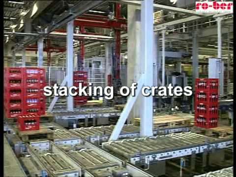 High Speed Order Picking in Drinks Distribution Centre