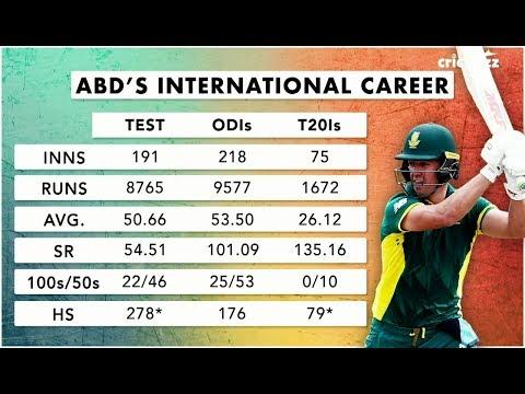 Cricbuzz LIVE panel reacts to AB de Villiers's international retirement