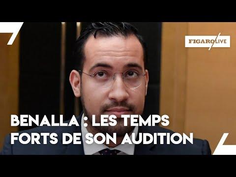 Les temps forts de l'audition d'Alexandre Benalla (видео)