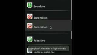 Video de Youtube de Lottodroid loterias y apuestas