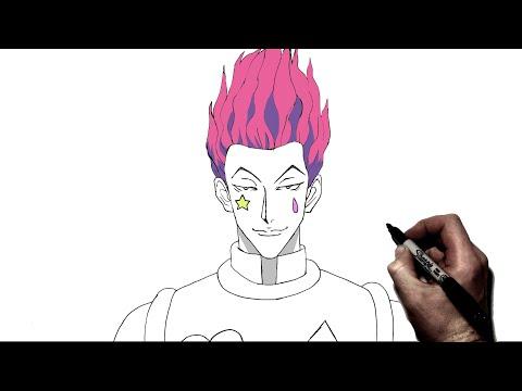 How To Draw Hisoka | Step By Step | Hunter X Hunter