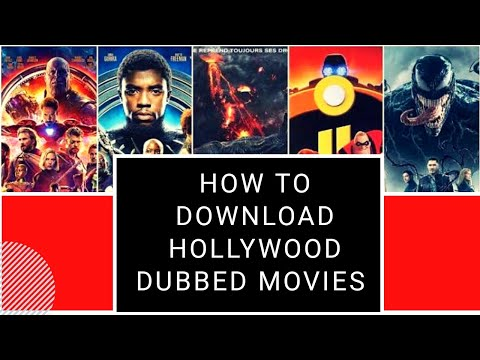 How to Download Hollywood dubbed movies