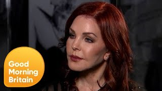 Subscribe now for more! http://bit.ly/1NbomQa In a Good Morning Britain exclusive, Priscilla Presley talks openly to Richard Arnold...