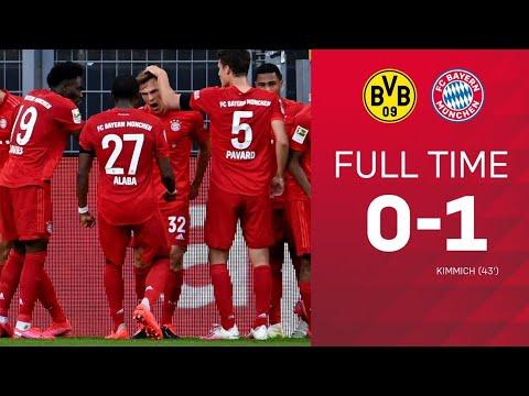 Dortmund vs Bayern Munich 0_1 All goals and highlights