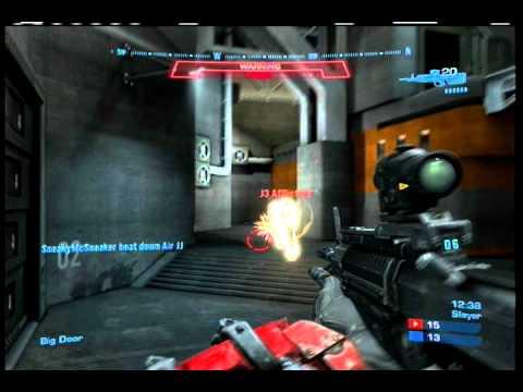 Killa out DMR'ed (Halo Reach) (видео)