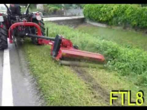 Forigo FTL8 zwenkmaaier | MDE Machinebouw B.V.