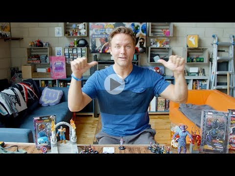 Marvel HeroClix Avengers Black Panther and the Illuminati Unboxing Part 2
