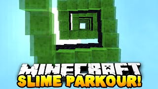 Minecraft - ULTIMATE SLIME PARKOUR! (Slime Bounce Craziness)  w/ Preston & Kenny