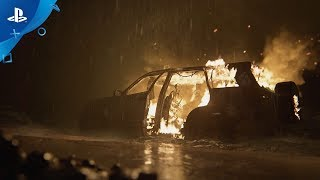 The Last of Us Part II – Burning Car Winter Fireplace | PS4