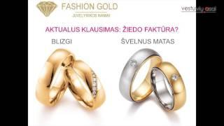 """Julija Gerlich (""""Fashion Gold"""") - Dažniausios klaidos, renkantis vestuvinius žiedus (II dalis)"""