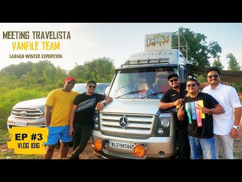 EP #3 - Met Travelista Van Life Team - ട്രാവലറിൽ All India വാൻ ലൈഫ് Trip ചെയ്യുന്ന 3 ആളുകൾ